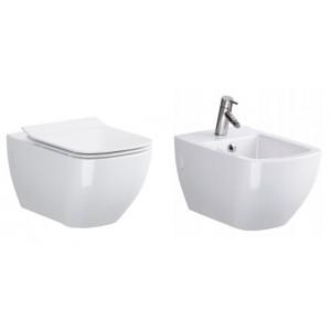 ZESTAW OPOCZNO METROPOLITAN MUSZLA WC + BIDET