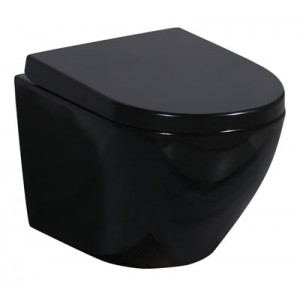 MUSZLA WC PRIMO BLACK