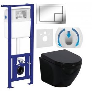 7w1 - CERSANIT + WC PRIMO BLACK + TWARDA DESKA WOL...