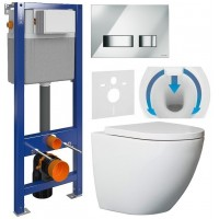 7w1 - CERSANIT AQUA + WC DUO RIMLESS + TWARDA DESK...