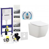 7w1 - GEBERIT + WC DUO SLIM + TWARDA DESKA WOLNOOP...