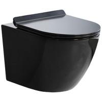 MUSZLA WC PRIMO SLIM BLACK